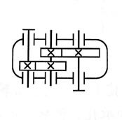 两级圆柱齿轮减速器的形式,特点及应用