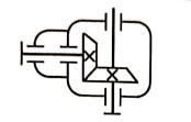 单级锥 齿轮减  速器的形式,特点及应用