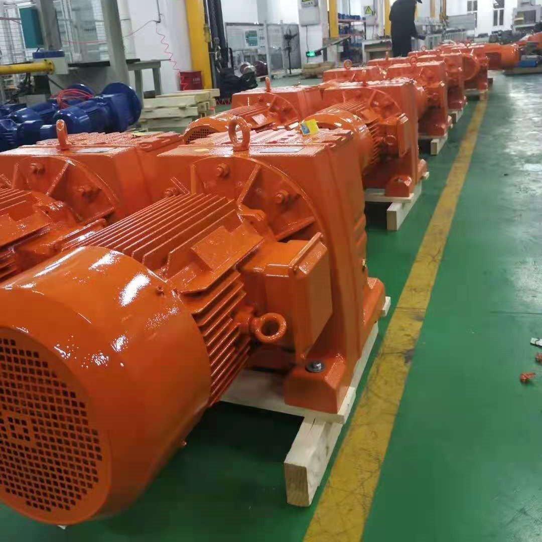 R137-80.91-Y15KW斜齿轮硬齿面减速机仓库